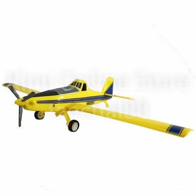 Newray Die-cast Air Craff AT-502 1:60 Yellow Color Model Collection Gift New Toy