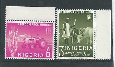 Nigeria - 1963 Freedom from Hunger - Complete set - Un-mounted Mint