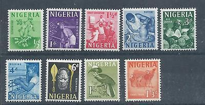 Nigeria - 1961 Definitive Issue - Set to 1/3 value - Un-mounted Mint