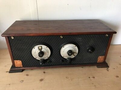 Old Home Built Radio - Early Parts - Spare Or Repairs