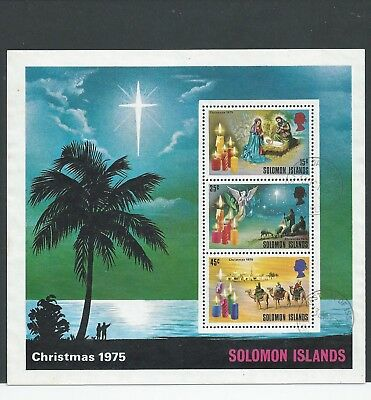 Solomon Islands - 1975 Christmas - Miniature Sheet - Fine Used
