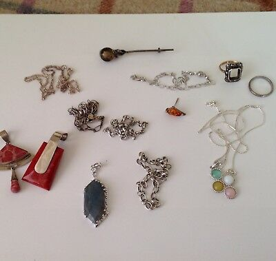 Silver 925 Jewellery Scrap Job Lot