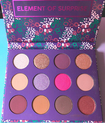 COLOURPOP ♥ Element of Surprice Shadow Palette ♥ Lidschatten Palette 12 Farben
