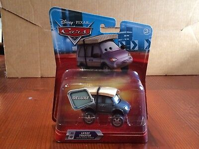 Disney Pixar cars Leroy Traffic with snow tyres deluxe size NEW