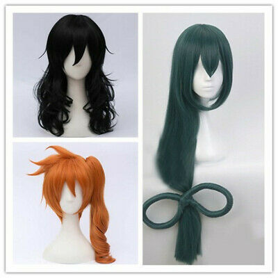 16 Styles Anime For Fashion Costume Long Short Party Cosplay Wig+Cap