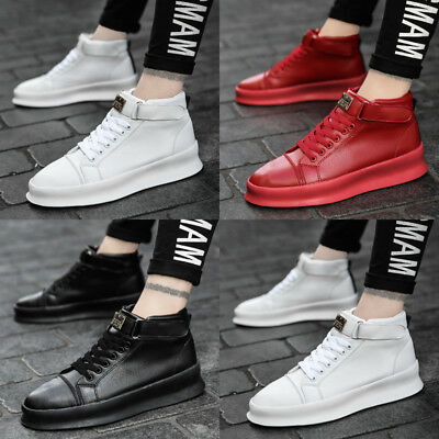 ffd47babcbbf3d Mens Hightop Boots Shoes Boots Bodybuilding Exercise Sneakers Causal Sd123