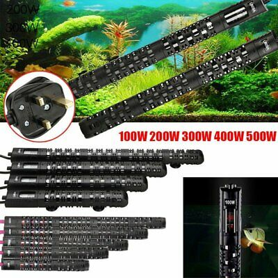 Aquarium Heater Fish Tank Water Heating Submersible Automatic Thermostat AU Plug