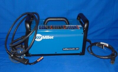 Millermatic 211 MIG Welder With Advanced Auto-Set 907614 FAST+FREE SHIP!