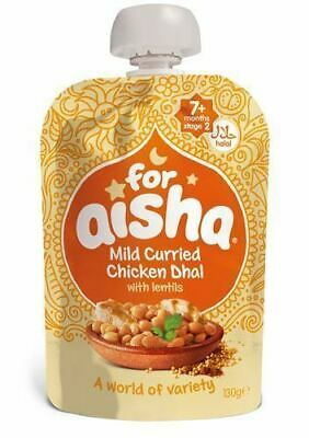 For Aisha | Mild Curried Chicken Dhal With Lentils | 6 x 130g