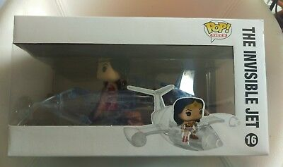 Wonder Woman & The Invisible Jet - Vinyl Figuren Set - Funko Pop! Rides