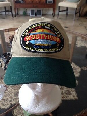2004 Scoutmaster Camporee BSA South Florida Council Hat  BSA Boy Scouts Feb 2014