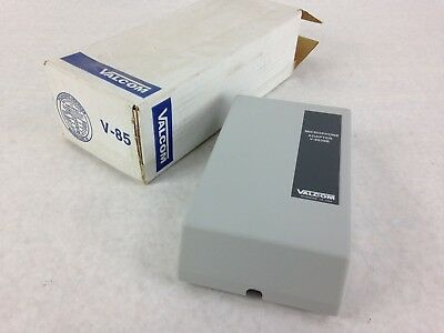 Valcom V-9939B Microphone Adapter Mic Access to One-way Amplified Speakers V-85