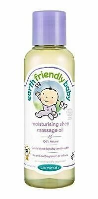 Earth Friendly Baby | Moisturising Shea Massage Oil | 6 x 125ml