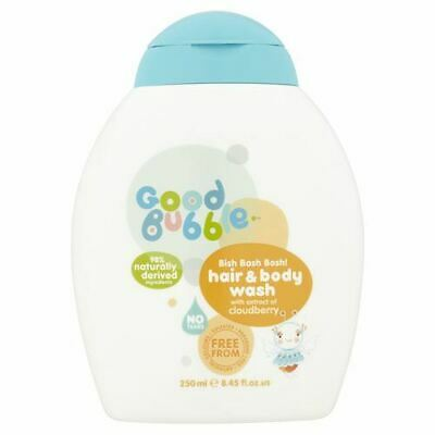 Good Bubble | Cloudberry Extract Hair & Body Wash | 4 x 250ml