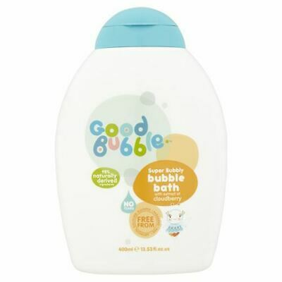 Good Bubble | Cloudberry Extract Bubble Bath | 4 x 400ml