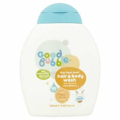 Good Bubble | Cloudberry Extract Hair & Body Wash | 5 x 250ml