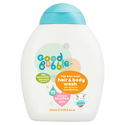 Good Bubble | Cloudberry Extract Hair & Body Wash | 6 x 250ml
