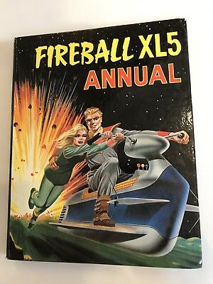 FIREBALL XL5 ANNUAL 1965 - Superb original colour - Gerry Anderson