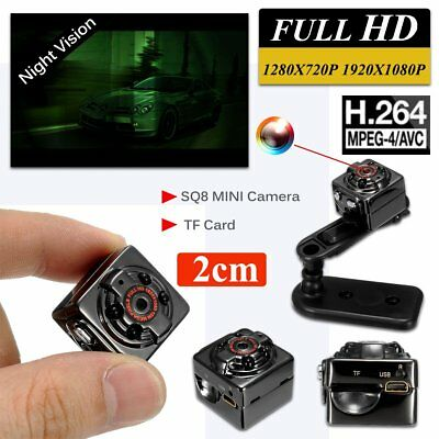 SQ8 MINI FHD 1080P Video Camera DV Sport IR Night Vision Car DVR Camcorder DR