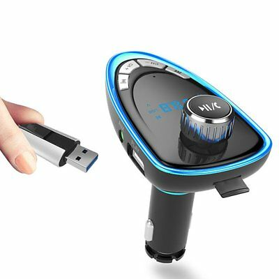 Car FM Transmitter Bluetooth Hands-free MP3 Player Radio Adapter Kit Charger SA