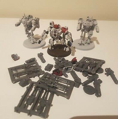 Warhammer 40k Tau Crisis xv8 Suits new style battlesuits commander alternatives