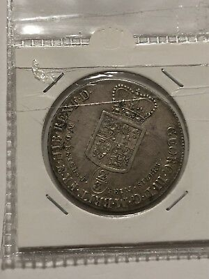 1783 germany brunswick hannover luneburh 2/3 rds thaler 24 marien silver coin