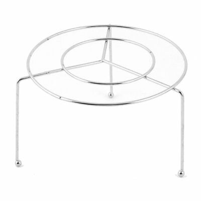 Stainless Steel Food Steaming Stand Steamer Rack 11.5cm Dia I3M1