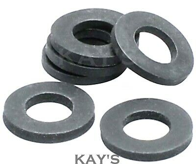 Rubber Washers Thick Black Form A Metric Washer M3 M4 M5 M6 M8 M10 M12 M16 M20