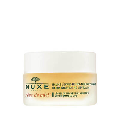 NUXE Baume Levres Reve De Miel Honey Lip Balm 15g #7560 DAMAGED LID