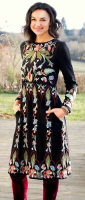 ZARA LIMITED EDITION FLORAL EMBROIDERED DRESS SIZE S//M REF 6895//101 NWT!!!