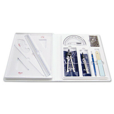 Chartpak Student Architectural Drafting Kit Locking Plastic Case SK2