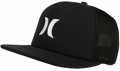 f9065093e30 Hurley Mens Blocked 2.0 Snapback Mesh Hat Cap - Black 1 of 12Only 2  available ...