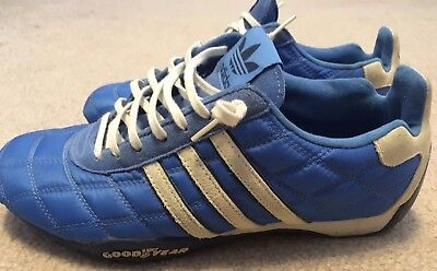 Racing Adidas 9 Men's Size Blue Rare Shoes Tuscany Driver's Goodyear prZr7t