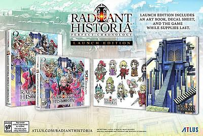 Radiant Historia Perfect Chronology Launch Edition Nintendo 3DS