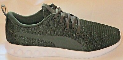 Men s Puma Carson 2 Fores Night-Castor Grey Soft Foam Comfort Shoes Size 10 5050c580a