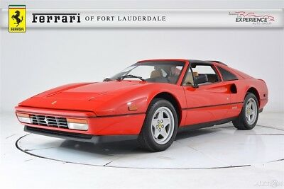 Ferrari 328 GTS Major Belt Service Complete 10/17 Very Low Miles Maintained Excellent Shape