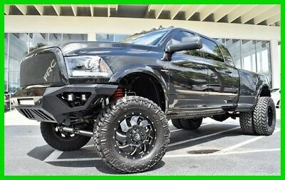 Ram 3500 Laramie ~~ 4X4 ~~ Mega Cab ~~ 1 of a kind ~~ 2017 Laramie Used Turbo 6.7L I6 24V 4WD Pickup Truck