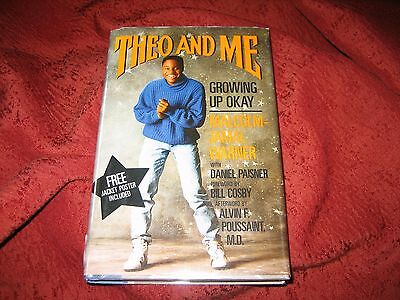 Theo and Me : Growing up Okay by Malcolm-Jamal Warner  (1988, HD) SIGNED