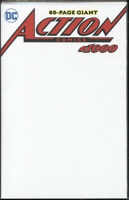 Action Comics #1000 Blank Variant Edition