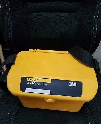 3M Dynatel 2273M Cable Pipe Fault Locator 2273