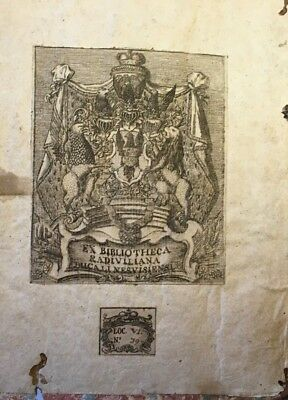1681 Manuscript Book Palmistry Astrology Cabala Occult Music Cryptography