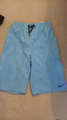 boys nike swim shorts age 12-13 years