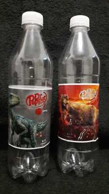 Dr. Pepper 2 pz Jurassic World Fallen Kingdom Limited edition Bottle from Mexico
