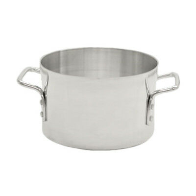 Thunder Group ALSKSU026 26 Qt Aluminum Sauce Pot w/ Mirror Finish