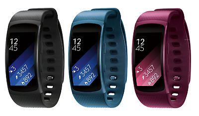 Samsung Gear Fit2 Fitness Tracker SM-R3600 Black / Blue / Pink / Large / Small