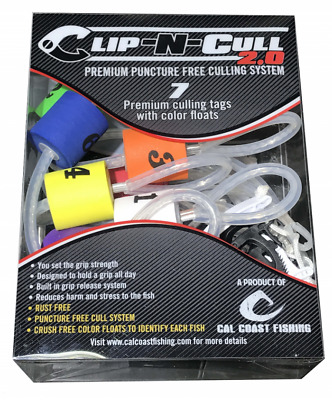 Cal Coast Fishing Clip-N-Cull 2.0 Culling System for Bass Fishing Tournaments