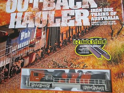 Bachmann Outback Hauler BHP Billiton diesel loco locomotive NEW! 4 HO train set
