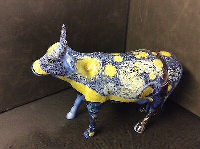 2001 Cow Parade Cow Starry Starry Cow Figurine - #9196 - Westland Giftware