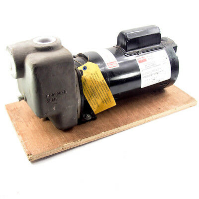 "Dayton 4UA72 Self Priming Centrifugal Pump | 1.5 HP 115/230V 1 Phase 1-1/2"" N..."