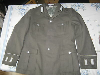 "Army Surplus East German Officers Jacket/Tunic 40"" Chest"